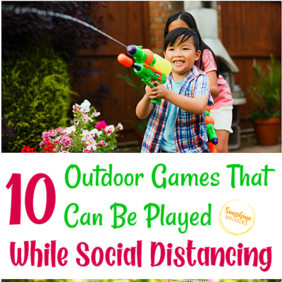 10 Outdoor Games That Can Be Played While Social Distancing