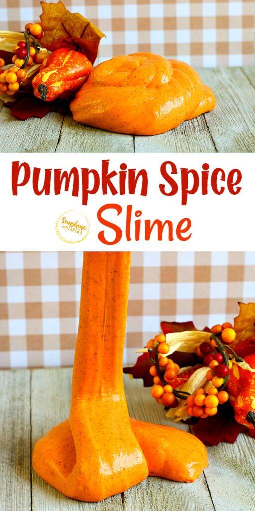 pumpkin spice slime