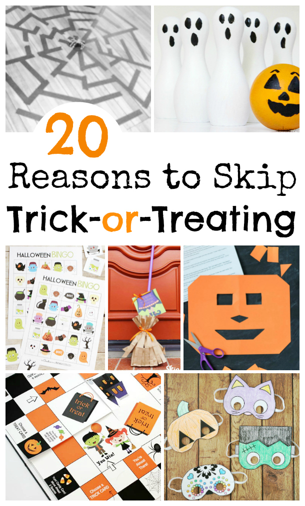 Skip Trick or Treating
