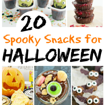 Super Spooky Snacks for Halloween!