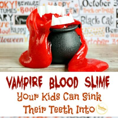 Vampire Blood Slime Your Kids Can Sink Their Teeth Into