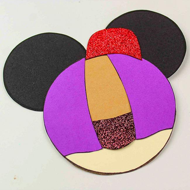 Aladdin Mickey Ears Disney Ornament Craft