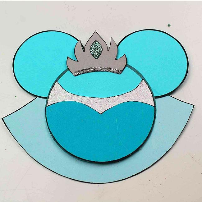 Elsa Mickey Ears Disney Ornaments