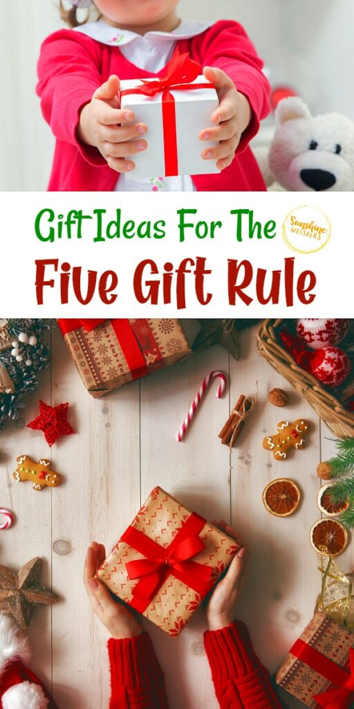 Gift Ideas for the five gift rule