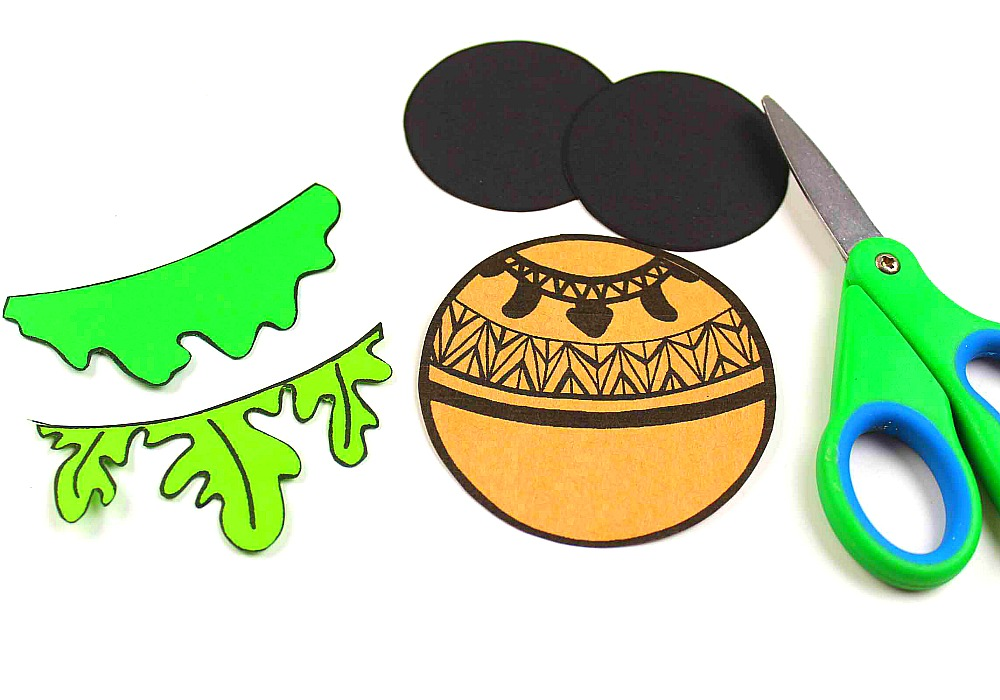 Moana Mickey Ears Disney Ornament Craft