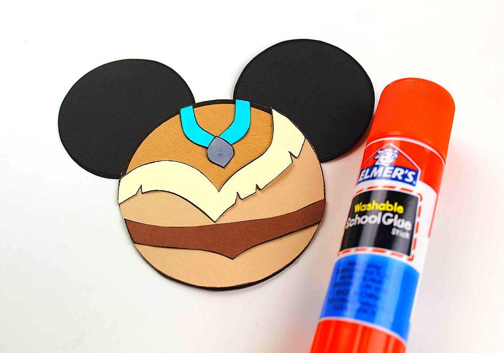 Pocahontas Mickey Ears Ornament Craft