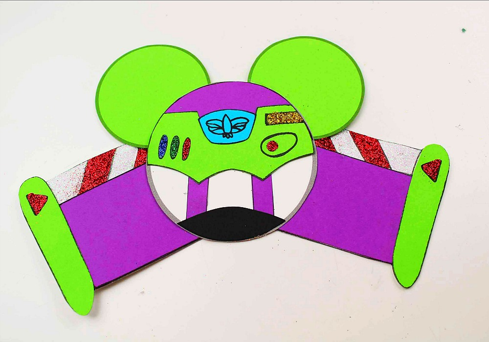 toy story mickey ears ornament crafts