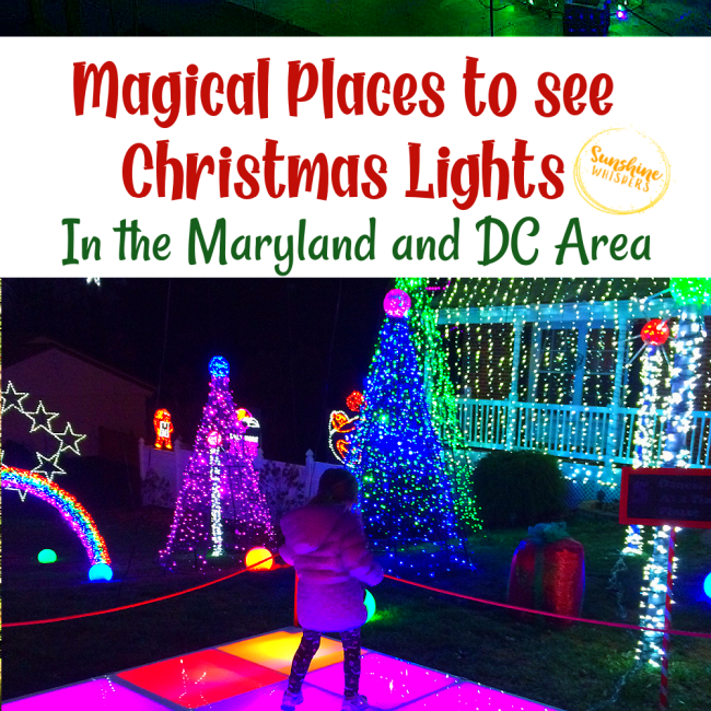 christmas lights in maryland