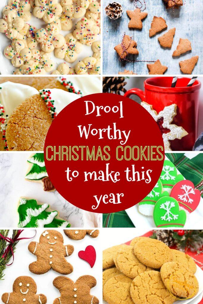 drool worthy christmas cookies