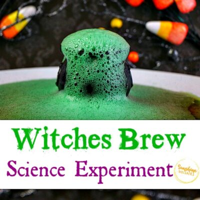 Witches Brew Science Experiment With Kids