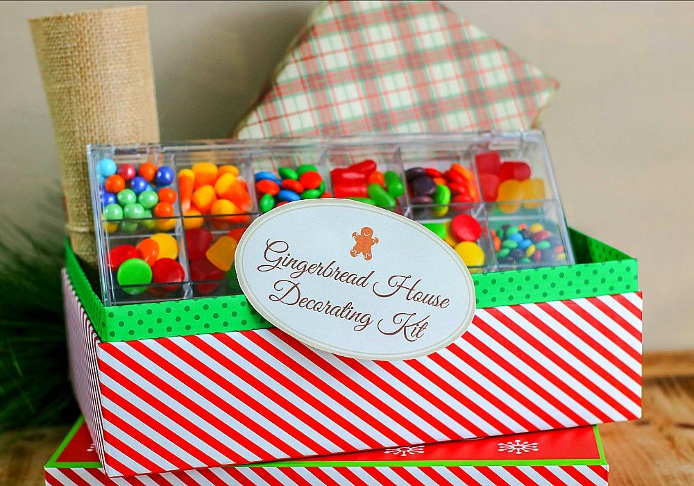 diy gingerbread house decorating kit