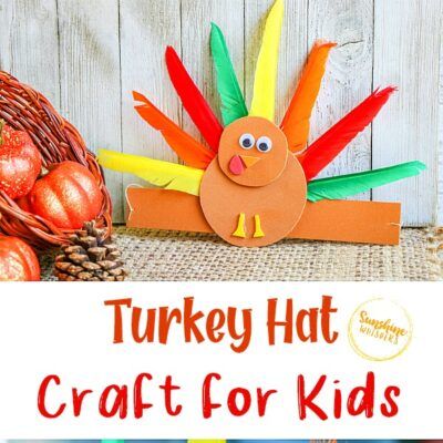 Super Adorable Turkey Hat Craft For Kids