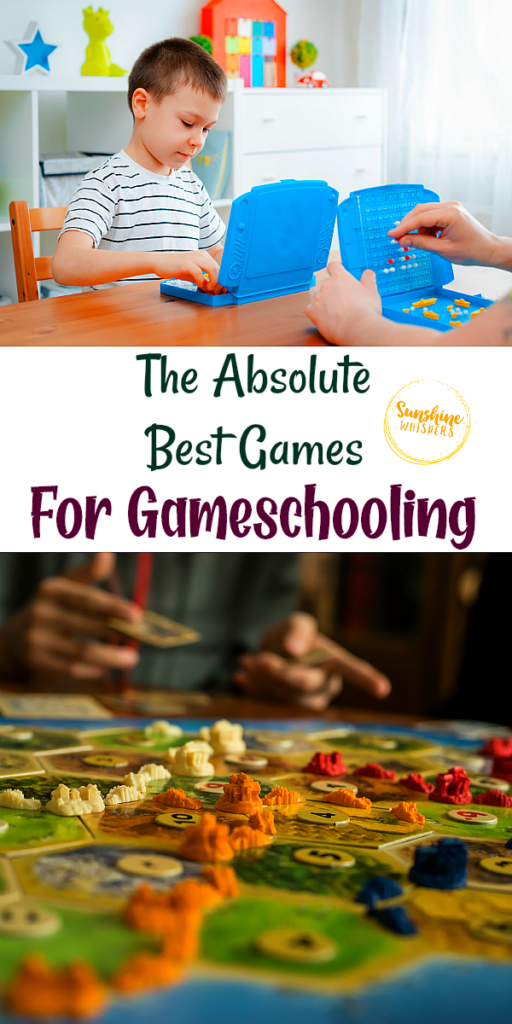 best games for gameschooling