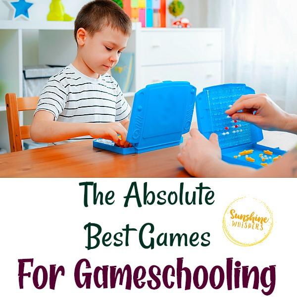 best games for gameschooling