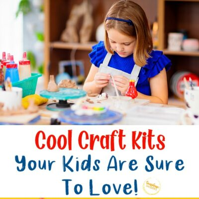 12 Cool Craft Kits That Your Kids are Sure to Love