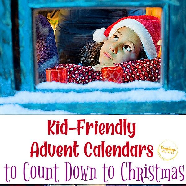 kid friendly advent calendars