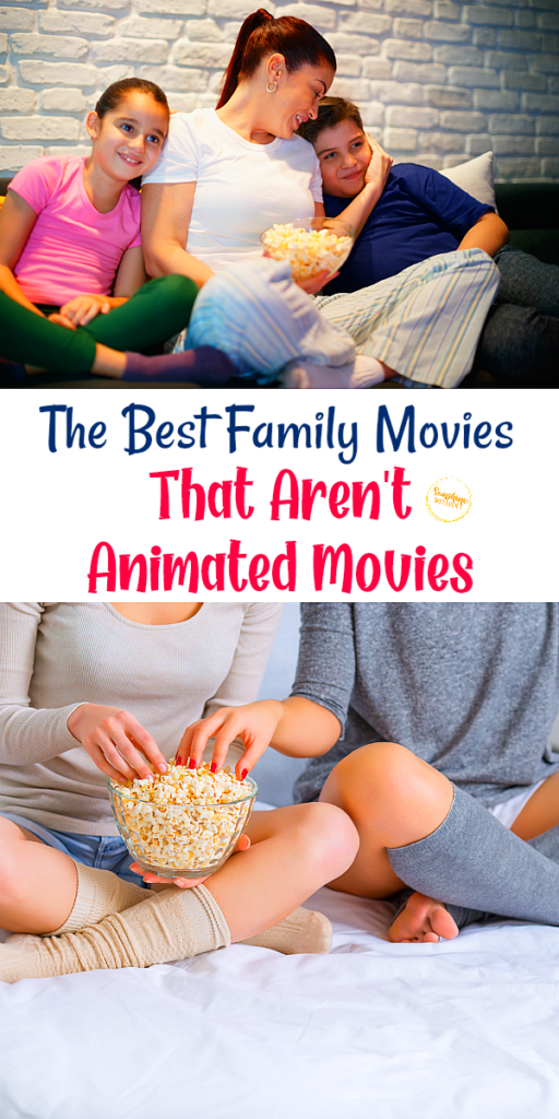 movies that aren't animated