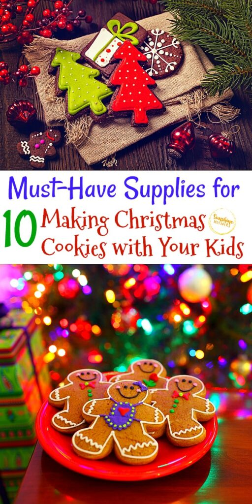 must have supplies for making christmas cookies