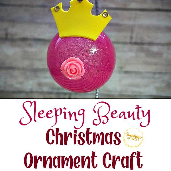 sleeping beauty christmas ornament craft
