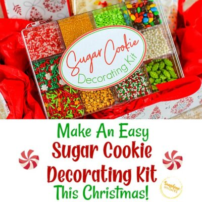 Make An Easy Sugar Cookie Decorating Kit This Christmas! (FREE Printable)