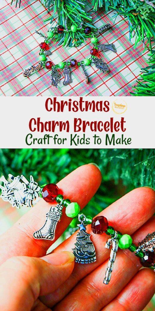 christmas charm bracelet craft
