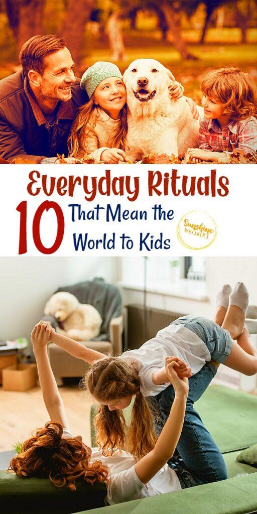 everyday rituals