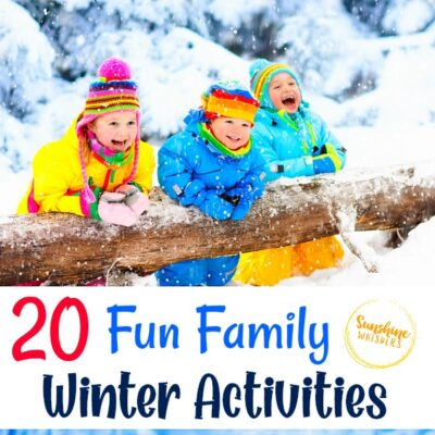 20 Fun Family Winter Activities