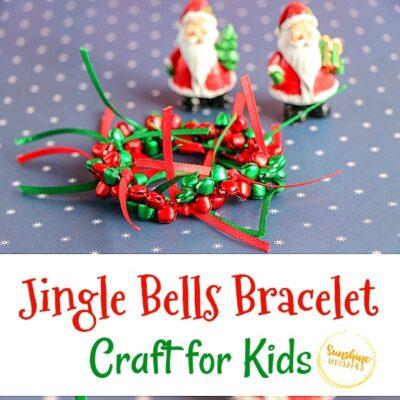 Jingle Bells Bracelet Craft for Kids