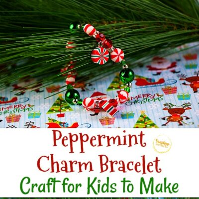 Peppermint Charm Bracelet Craft for Kids to Make