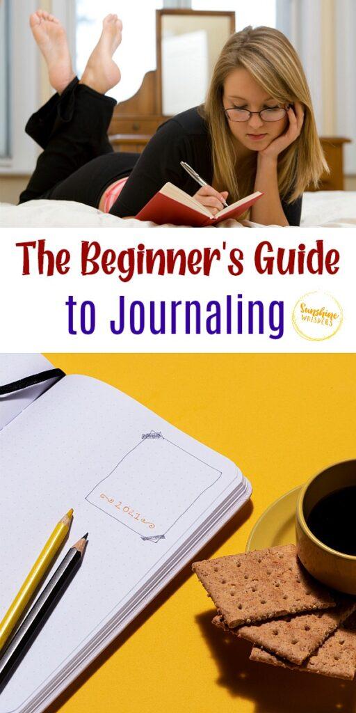 beginner's guide to journaling