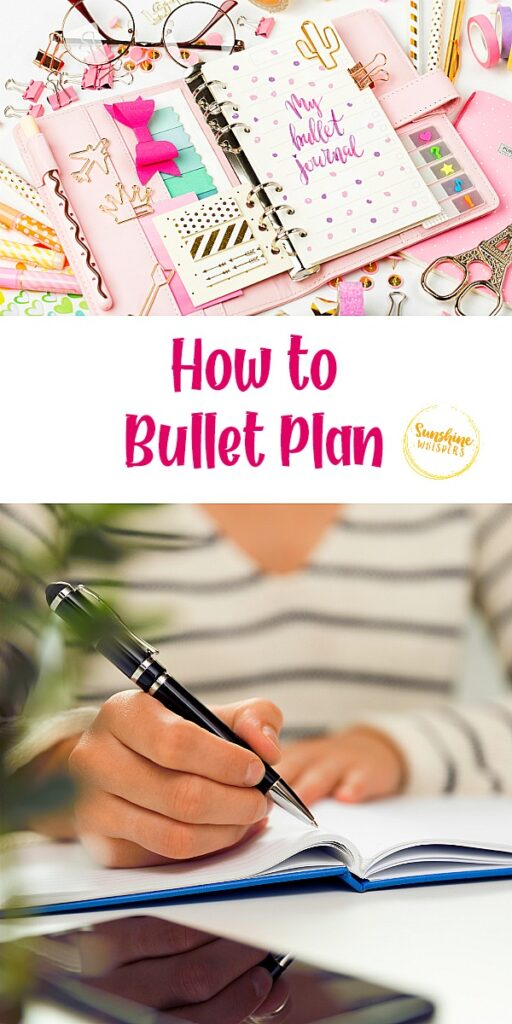 how to bullet plan