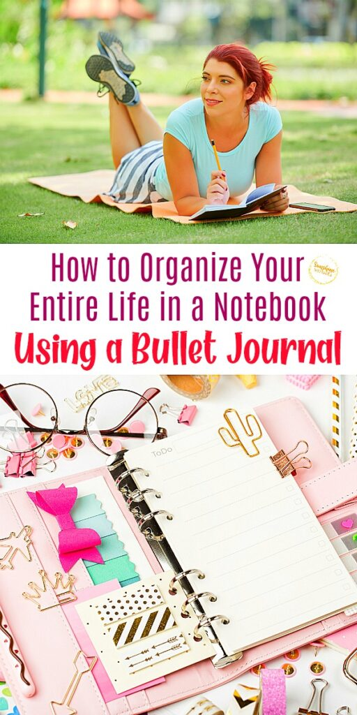 organize life with bullet journal