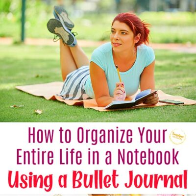 How to Organize Your Entire Life in a Notebook Using a Bullet Journal
