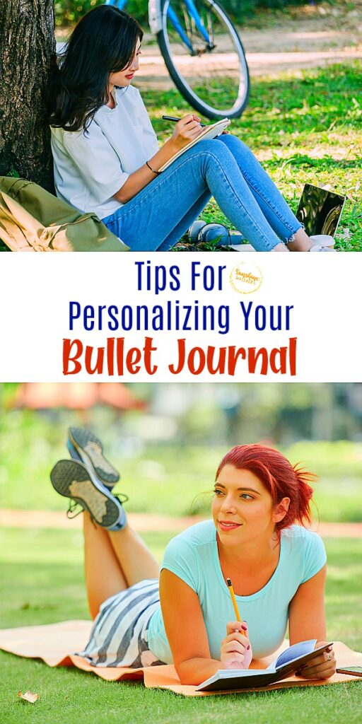 personalizing your bullet journal