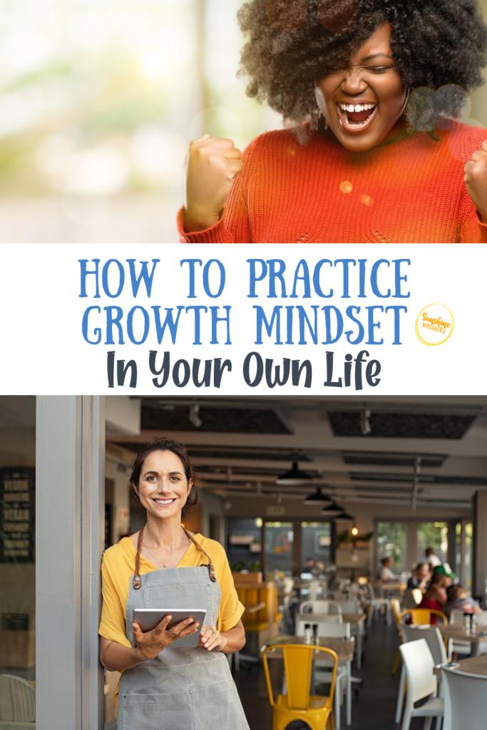 practice growth mindset