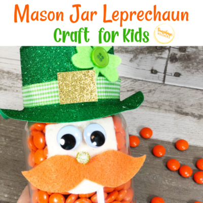 mason jar leprechaun craft