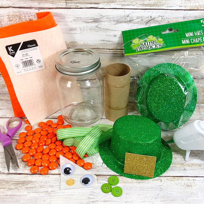 mason jar leprechaun craft