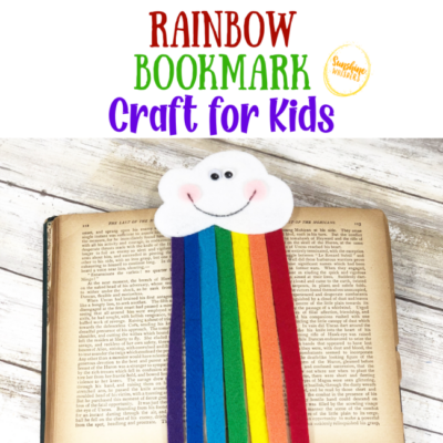 Rainbow Bookmark Craft