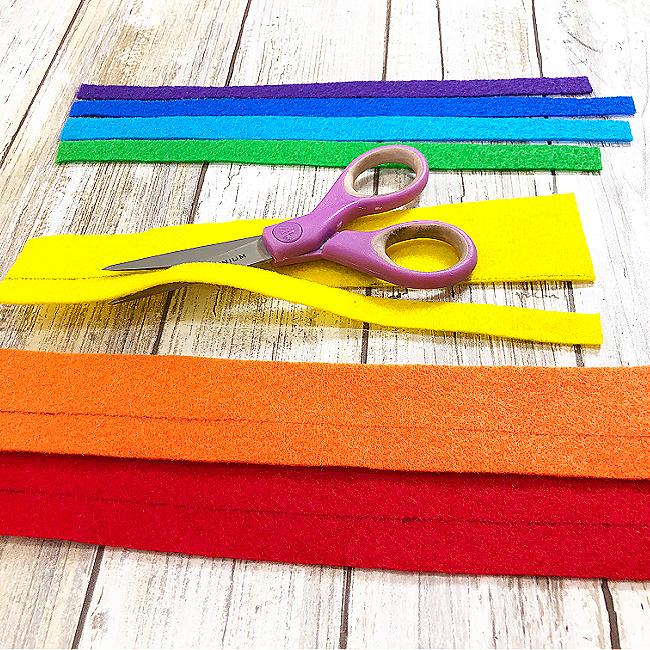 Rainbow Bookmark Craft