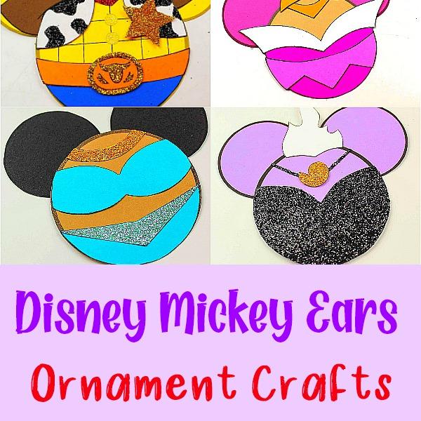 disney ears ornaments