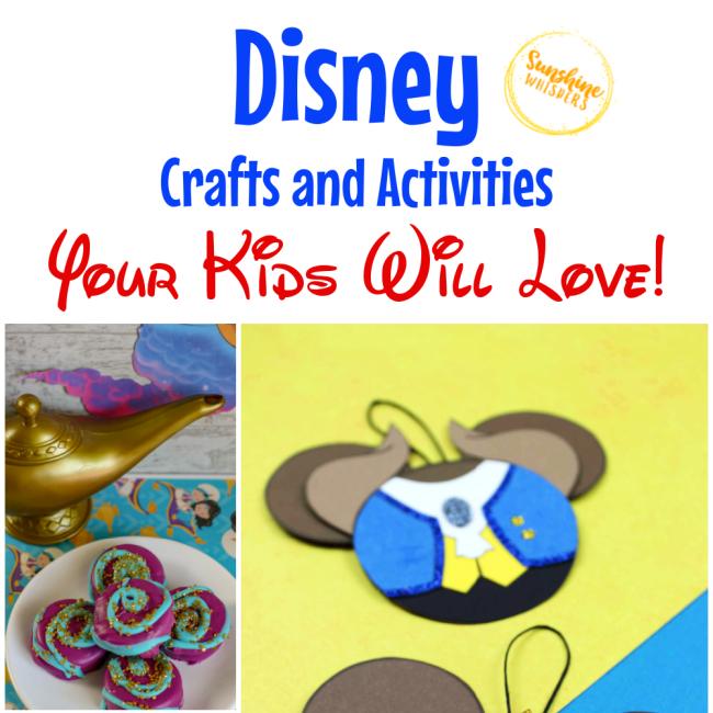 disney crafts and activities