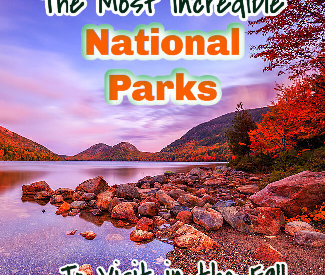 national parks to visit in fall