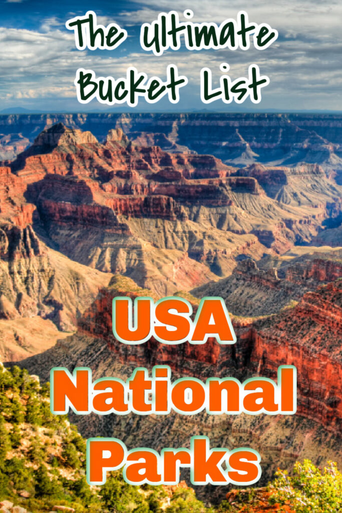 usa national parks bucket list