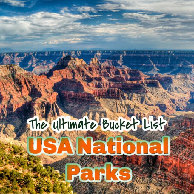 usa national parks bucket list
